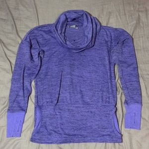 Athleta Cowl Neck Pullover Sweater Batwing & Robin